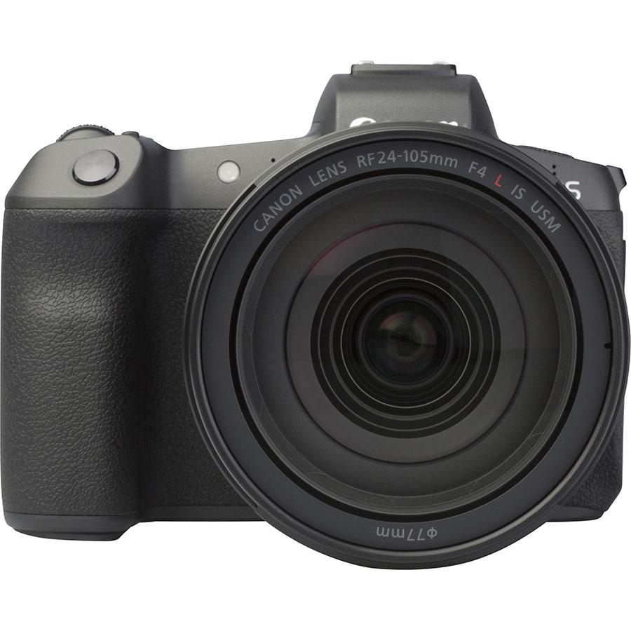 Canon EOS R + RF 24-105 mm L IS USM - Vue de face