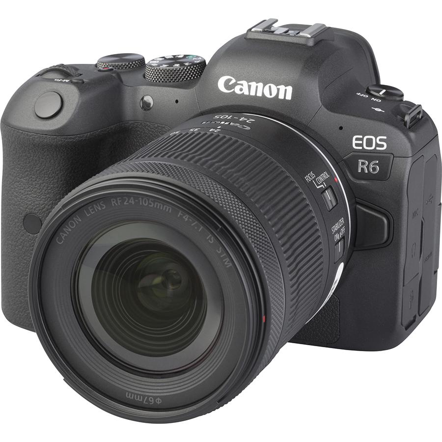 Canon EOS R6 + RF 24-105 mm IS STM - Vue principale