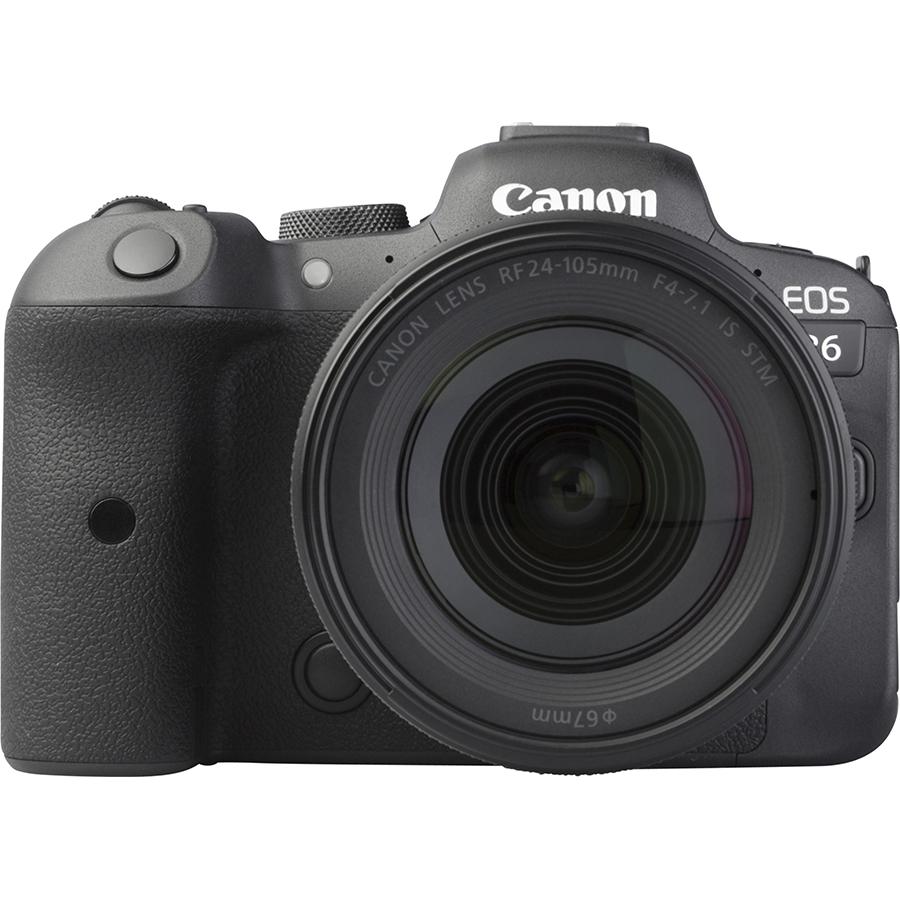 Canon EOS R6 + RF 24-105 mm IS STM - Vue de face