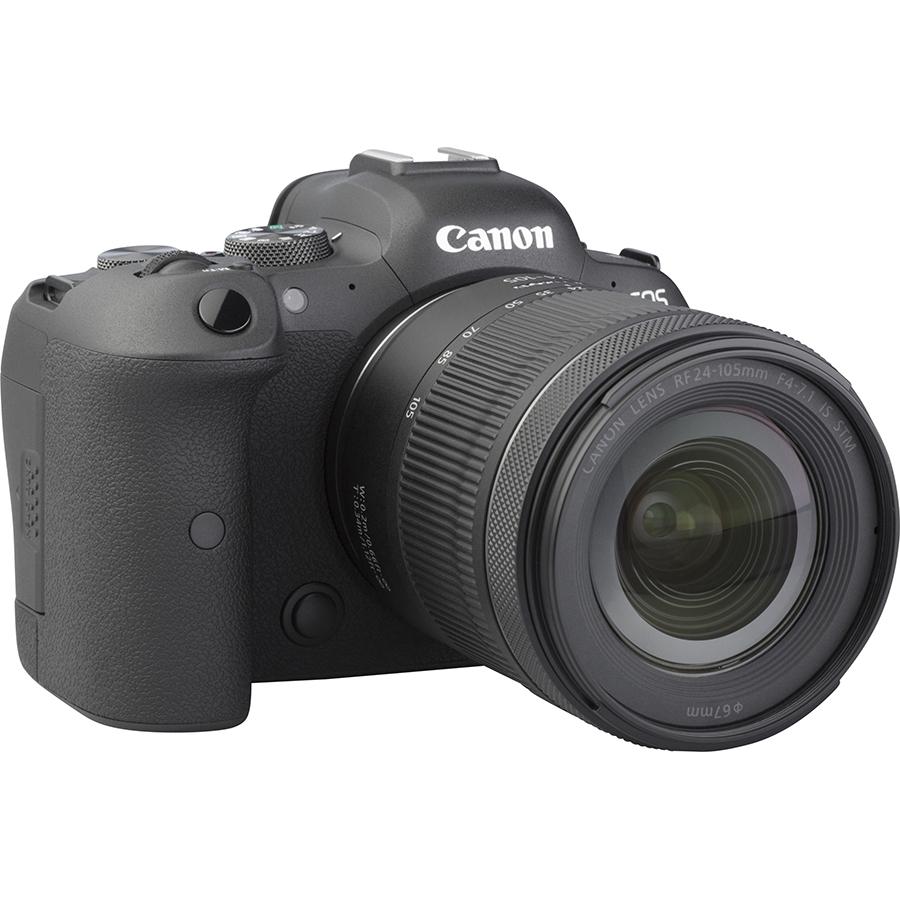 Canon EOS R6 + RF 24-105 mm IS STM - Vue de 3/4 vers la droite