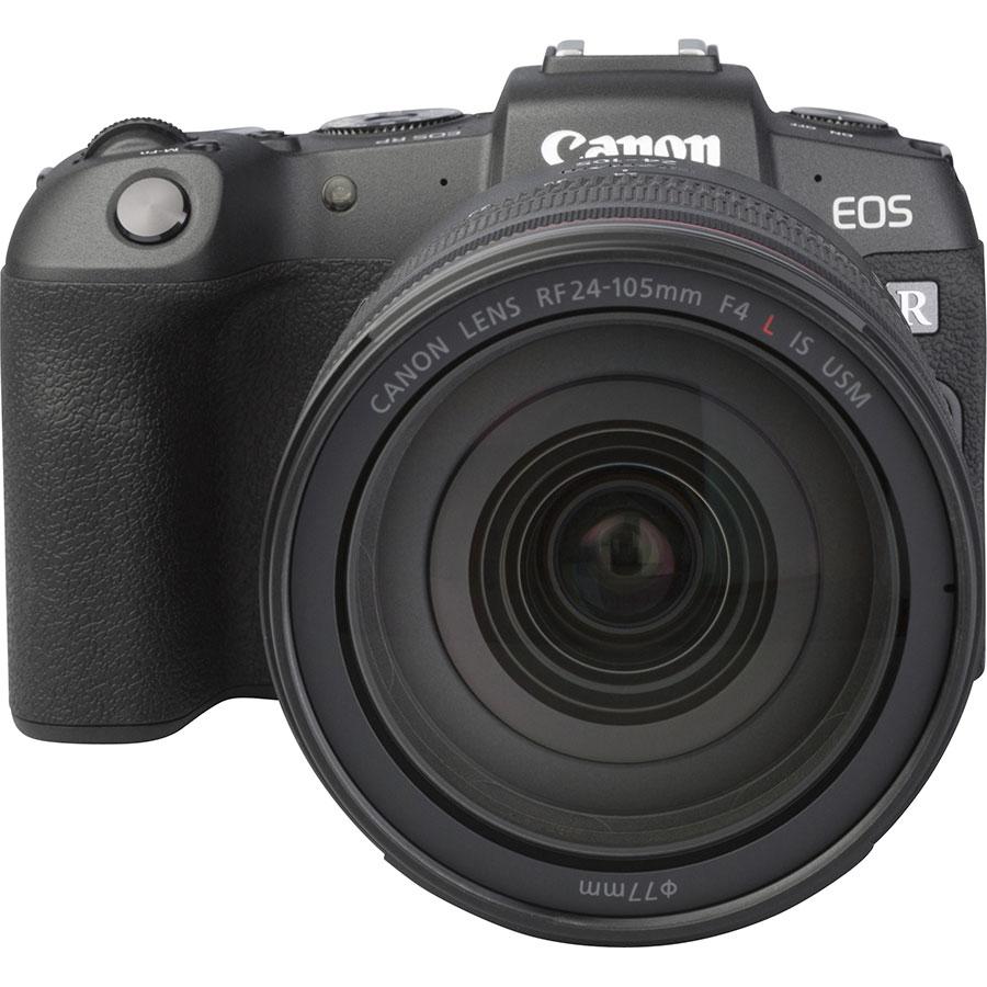 Canon EOS RP + RF 24-105 mm L IS USM - Autre vue de face