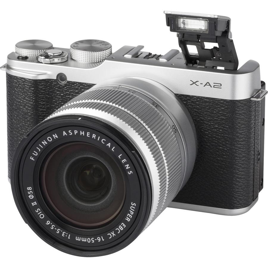 Fujifilm X-A2 + Fujinon Super EBC XC 16-50 mm OIS II - Vue principale