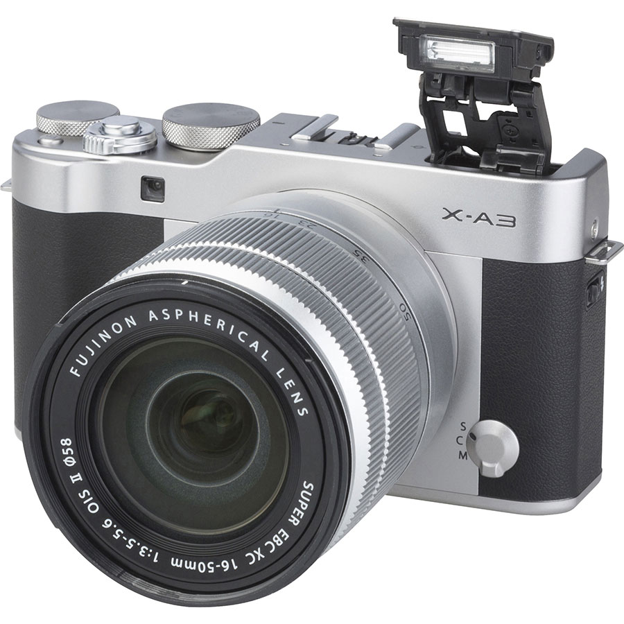 Fujifilm X-A3 + Fujinon Super EBC XC 16-50 mm OIS II - Vue principale