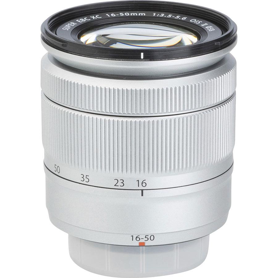 Fujifilm X-A3 + Fujinon Super EBC XC 16-50 mm OIS II - Vue de l'objectif