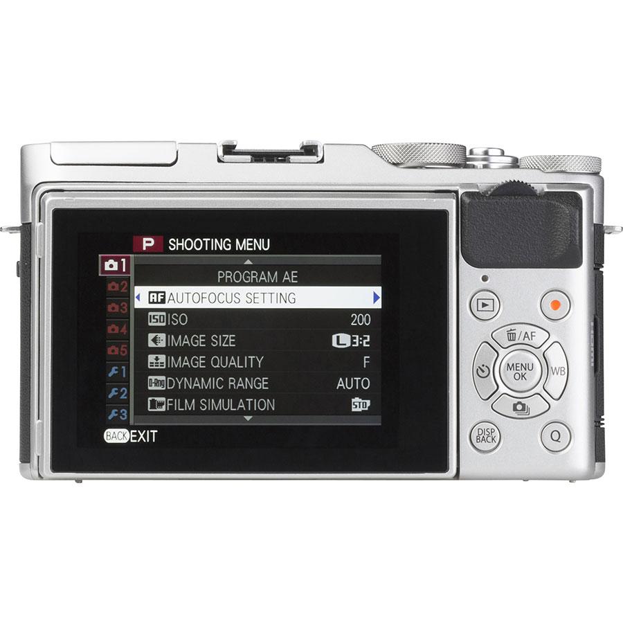 Fujifilm X-A3 + Fujinon Super EBC XC 16-50 mm OIS II - Vue de dos