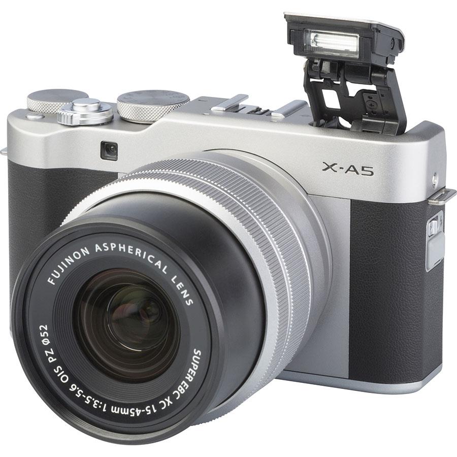 Fujifilm X-A5 + Fujinon Super EBC XC 15-45 mm OIS PZ - Vue principale