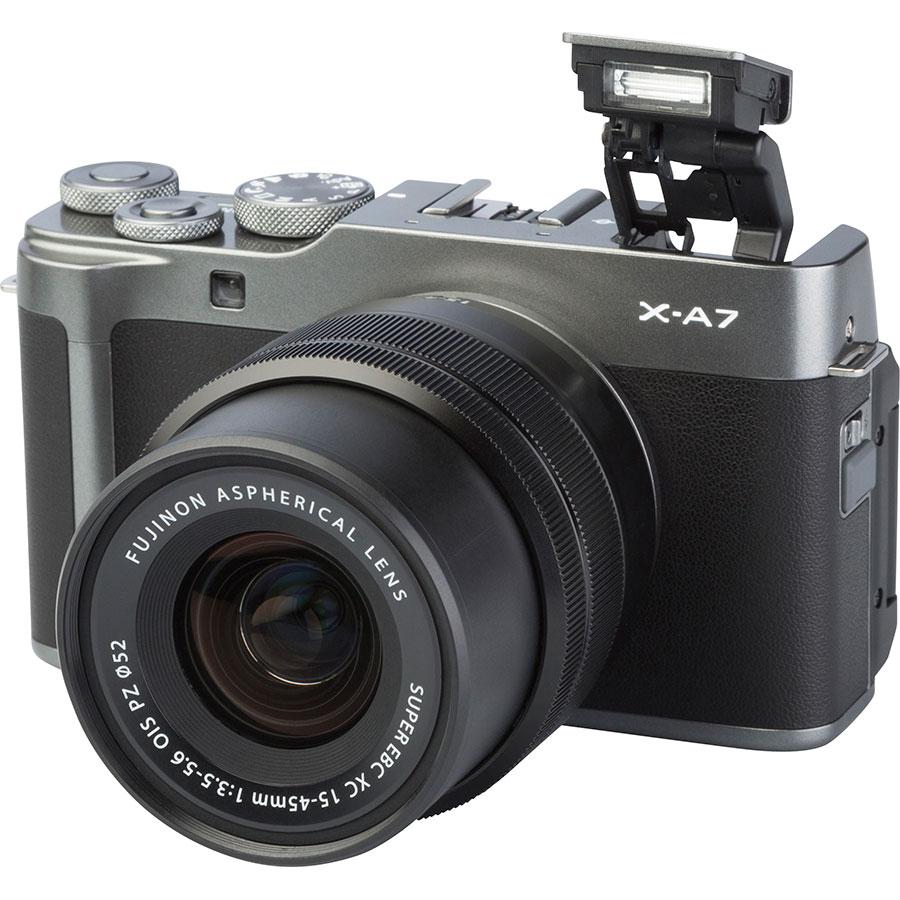 Fujifilm X-A7 + Fujinon Super EBC XC 15-45 mm OIS PZ - Vue principale