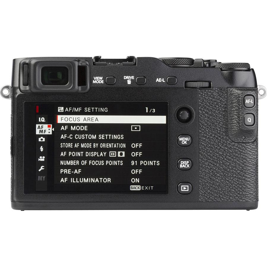 Fujifilm X-E3 + Fujinon Super EBC XF 18-55 mm R LM OIS - Vue de dos