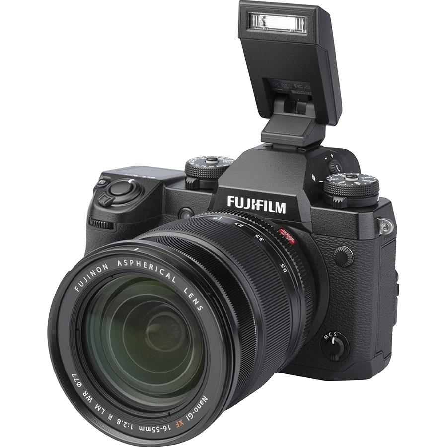 Fujifilm X-H1 + Fujinon Nano-Gl XF 16-55 mm R LM WR - Vue principale