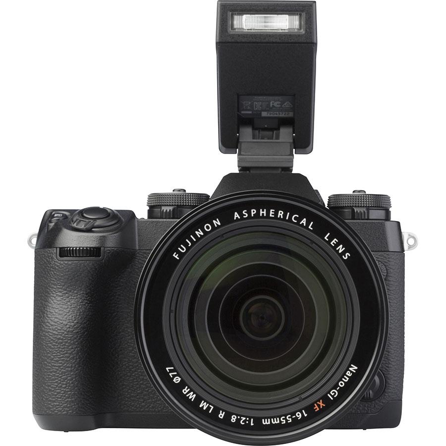 Fujifilm X-H1 + Fujinon Nano-Gl XF 16-55 mm R LM WR - Vue de face