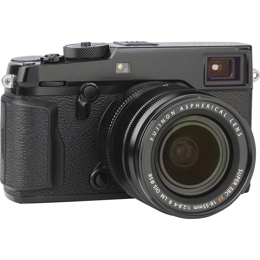 Fujifilm X-Pro2 + Fujinon Super EBC XF 18-55 mm R LM OIS - Vue de face