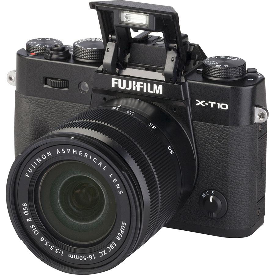 Fujifilm X-T 10 + Fujinon Super EBC XC 16-50 mm OIS II - Vue principale