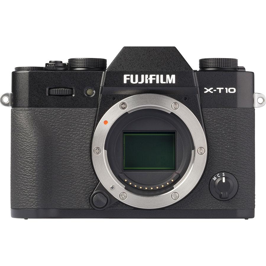 Fujifilm X-T 10 + Fujinon Super EBC XC 16-50 mm OIS II - Vue du dessus