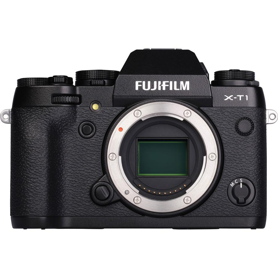 Fujifilm X-T1 + Fujinon XF 18-55 mm R LM OIS - Vue du dessus
