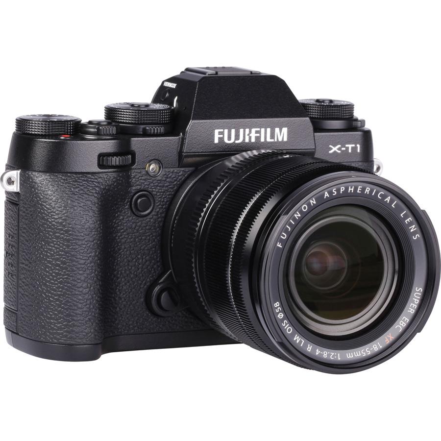 Fujifilm X-T1 + Fujinon XF 18-55 mm R LM OIS - Vue de dos