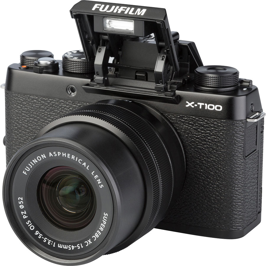 Fujifilm X-T100 + Fujinon Super EBC XC 15-45 mm OIS PZ - Vue principale