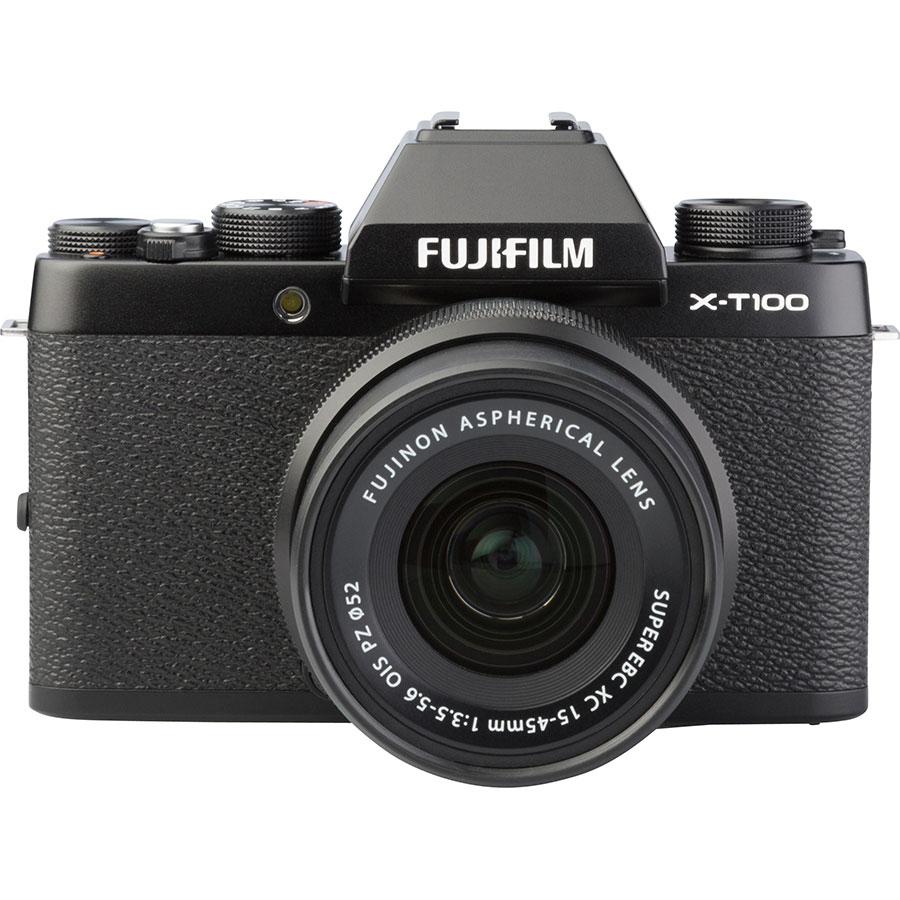 Fujifilm X-T100 + Fujinon Super EBC XC 15-45 mm OIS PZ - Autre vue de face