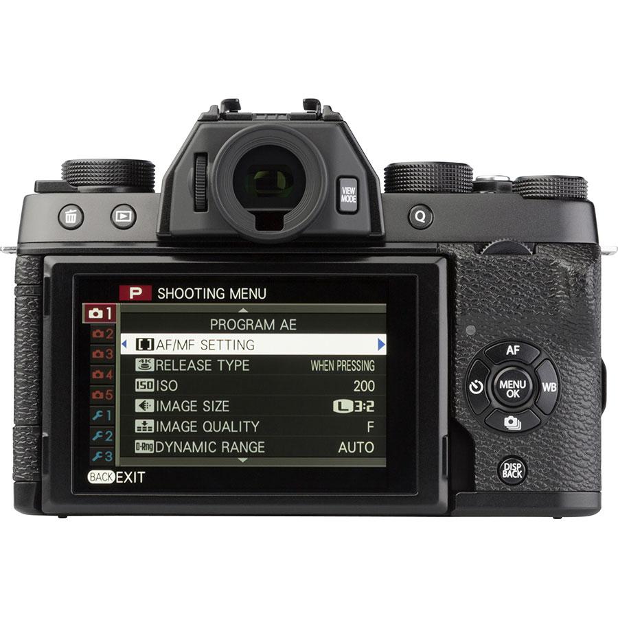 Fujifilm X-T100 + Fujinon Super EBC XC 15-45 mm OIS PZ - Vue de dos