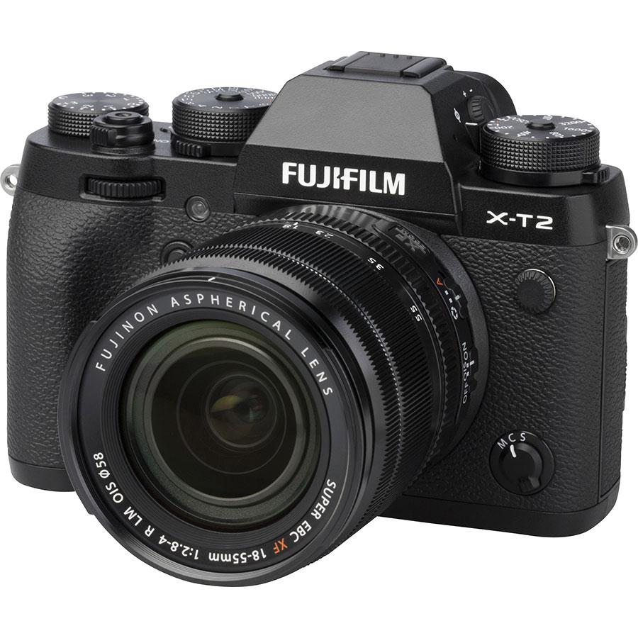 Fujifilm X-T2 + Fujinon Super EBC XF 18-55 mm R LM OIS - Vue principale