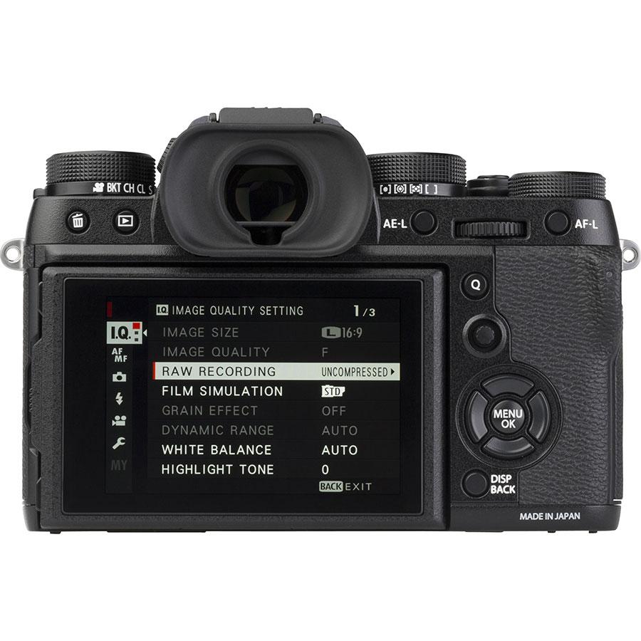 Fujifilm X-T2 + Fujinon Super EBC XF 18-55 mm R LM OIS - Vue de face