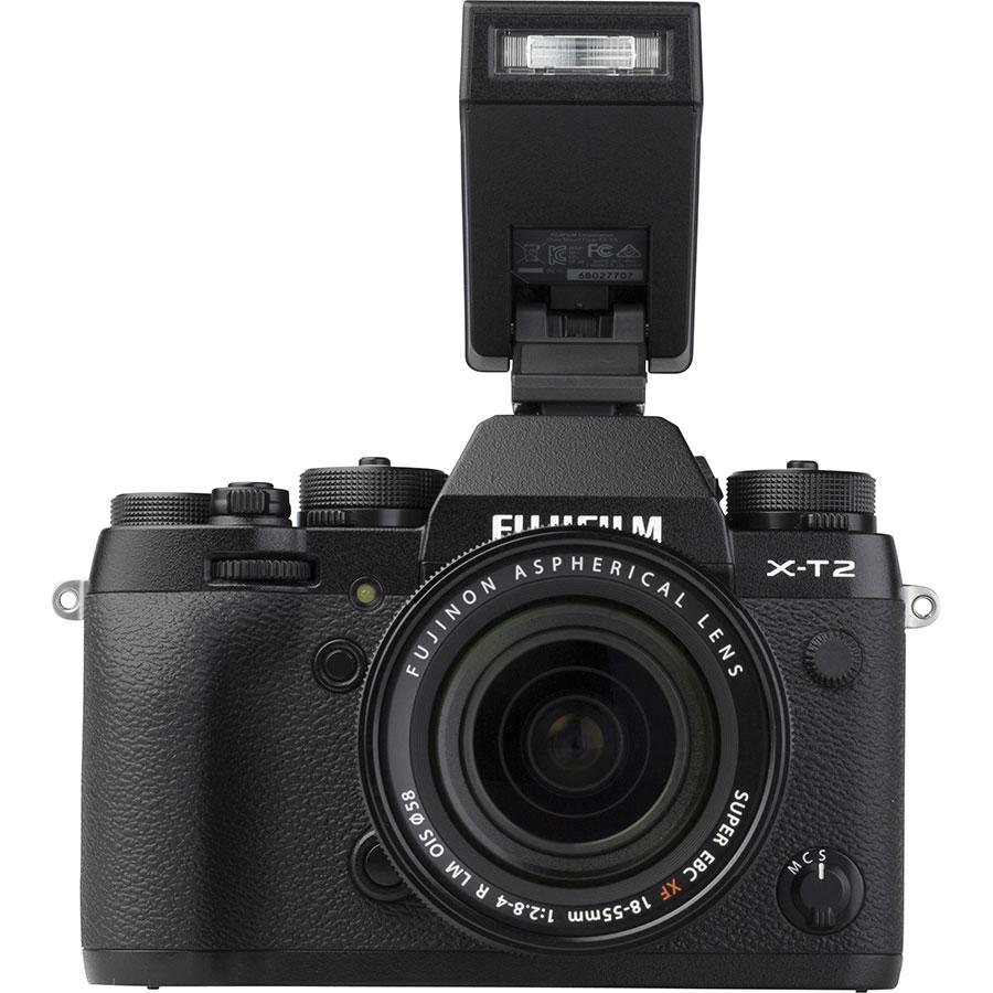 Fujifilm X-T2 + Fujinon Super EBC XF 18-55 mm R LM OIS - Vue du dessus