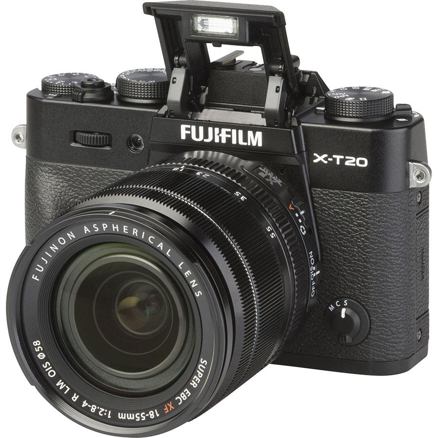 Fujifilm X-T20 + Fujinon Super EBC XF 18-55 mm R LM OIS - Vue principale