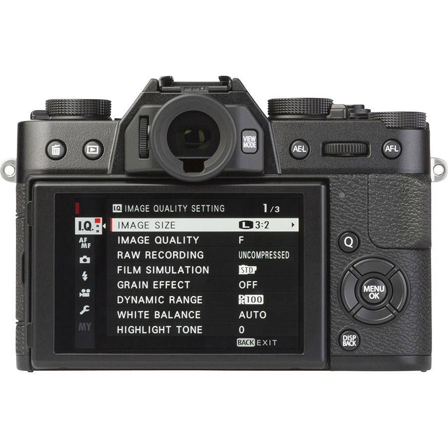 Fujifilm X-T20 + Fujinon Super EBC XF 18-55 mm R LM OIS - Vue de dos