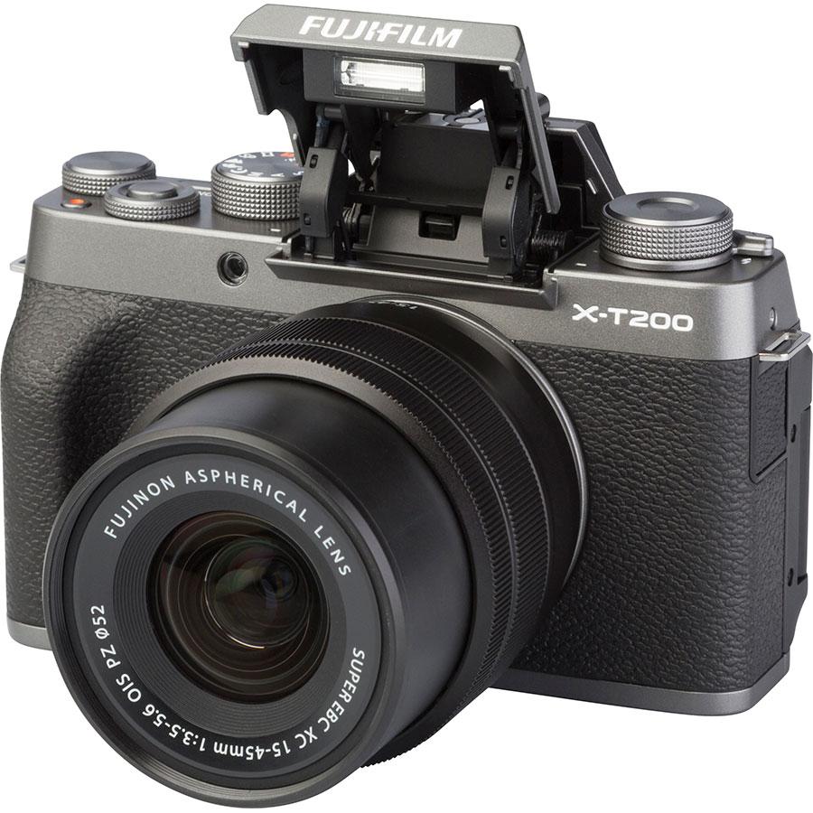 Fujifilm X-T200 + Fujinon Super EBC XC 15-45 mm OIS PZ - Vue principale