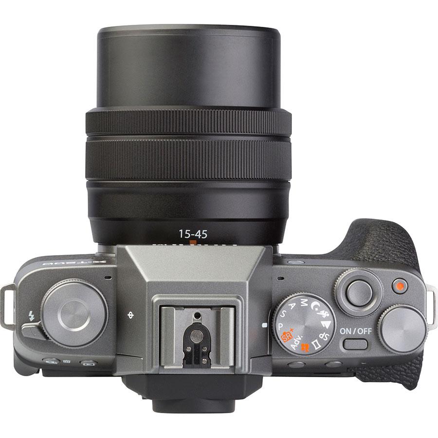 Fujifilm X-T200 + Fujinon Super EBC XC 15-45 mm OIS PZ - Vue du dessus