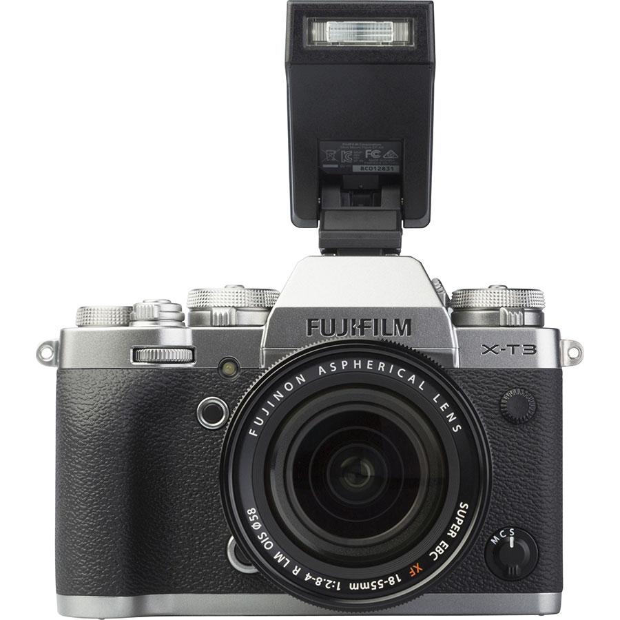 Fujifilm X-T3 + Fujinon Super EBC XF 18-55 mm R LM OIS - Vue de face