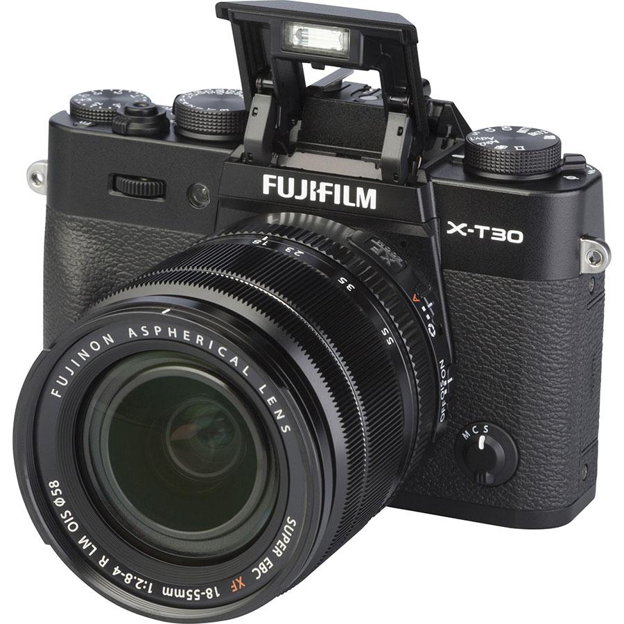 Fujifilm X-T30 + Fujinon Super EBC XF 18-55 mm R LM OIS - Vue principale