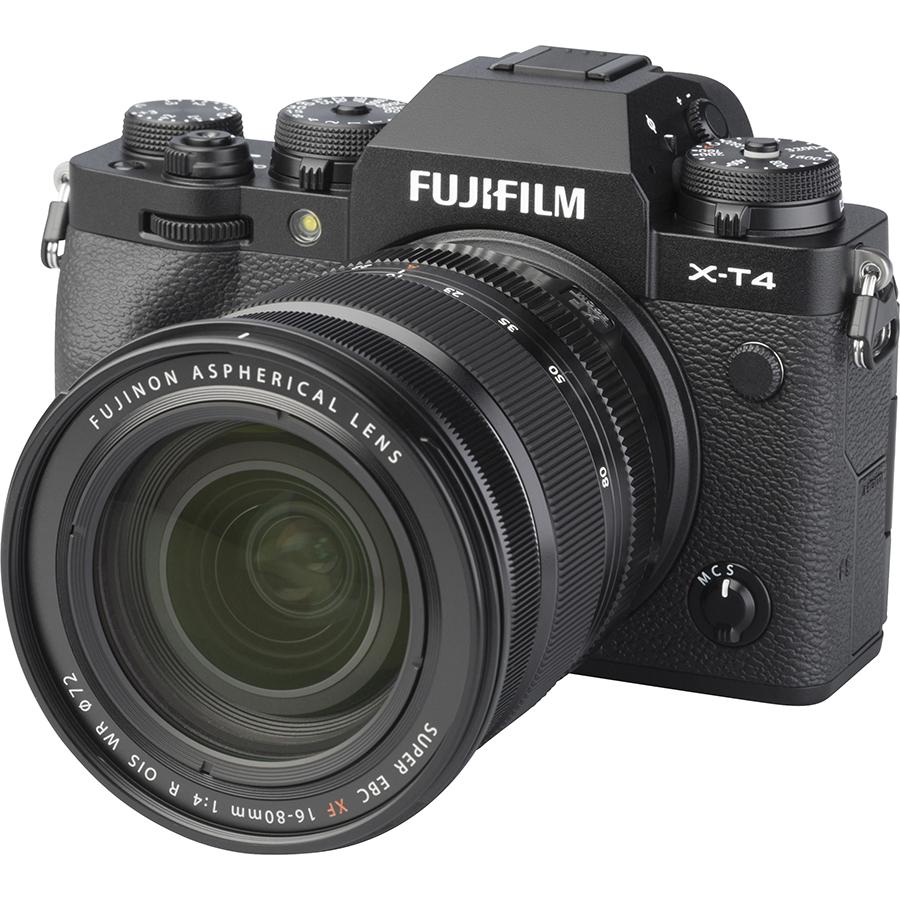 Fujifilm X-T4 + Fujinon Super EBC XF 16-80 mm R OIS WR - Vue principale