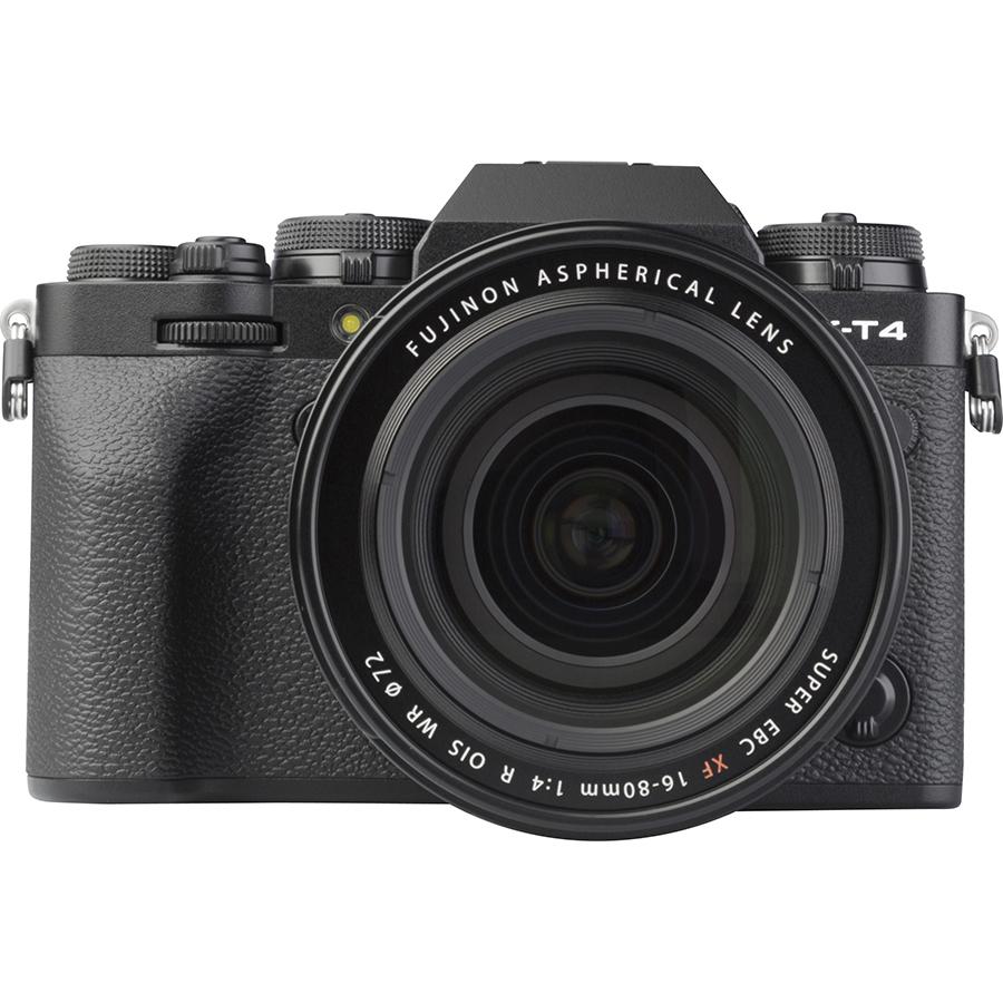 Fujifilm X-T4 + Fujinon Super EBC XF 16-80 mm R OIS WR - Vue de face