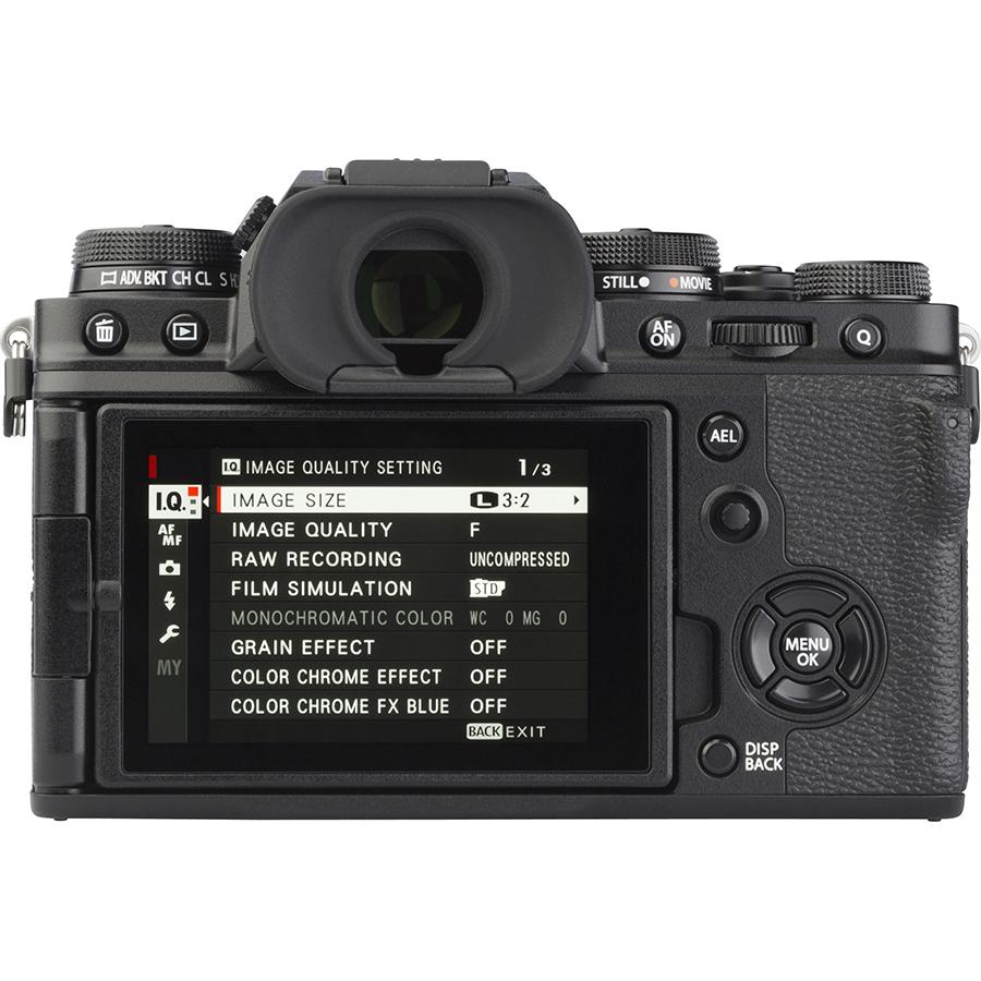 Fujifilm X-T4 + Fujinon Super EBC XF 16-80 mm R OIS WR - Vue de dos