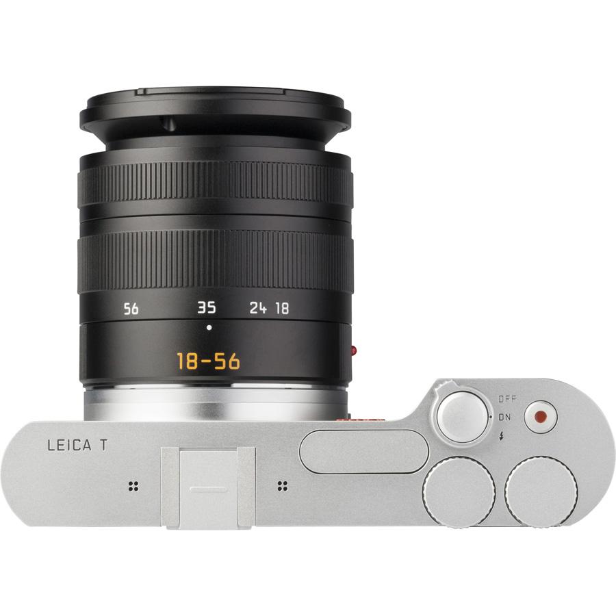 Leica T (Type 701) + Vario-Elmar-T 18-56 mm - Vue du dessus