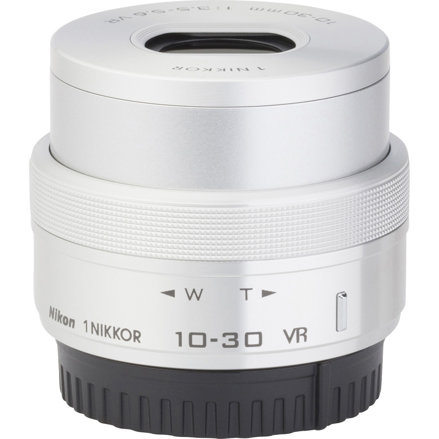 Nikon 1 J5 + 1 Nikkor VR 10-30 mm ED IF PD-Zoom - Vue de l'objectif