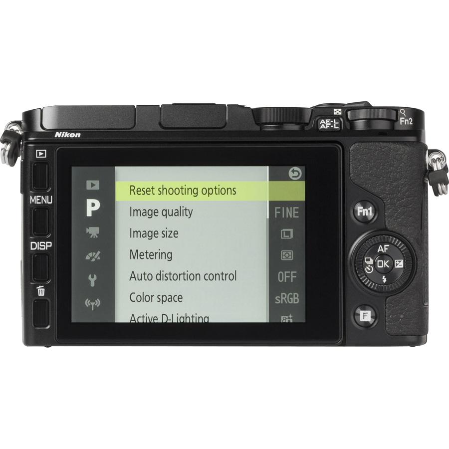 Nikon 1 V3 + 1 Nikkor VR 10-30 mm PD-Zoom - Vue de l'objectif