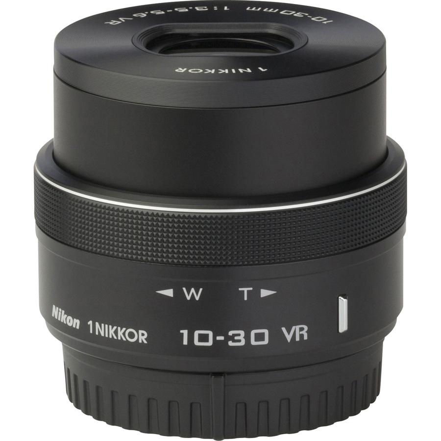 Nikon 1 V3 + 1 Nikkor VR 10-30 mm PD-Zoom - Vue de face sans objectif