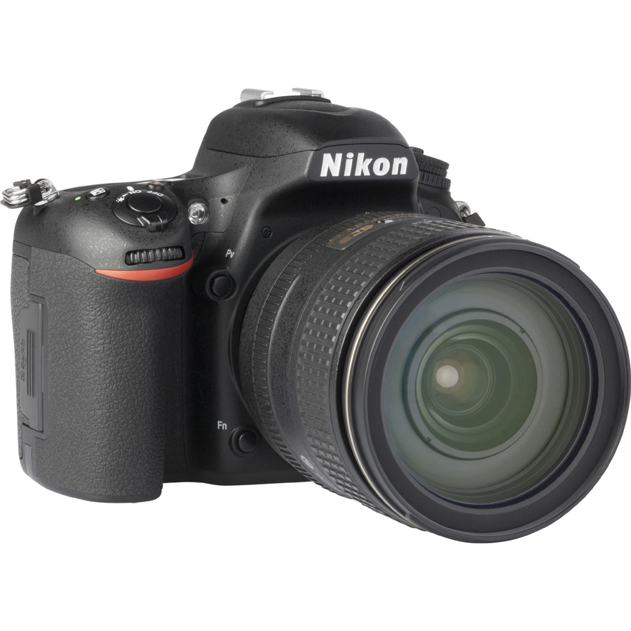 Nikon D750 + AF-S Nikkor 24-120 mm G ED VR - Vue de 3/4 vers la droite