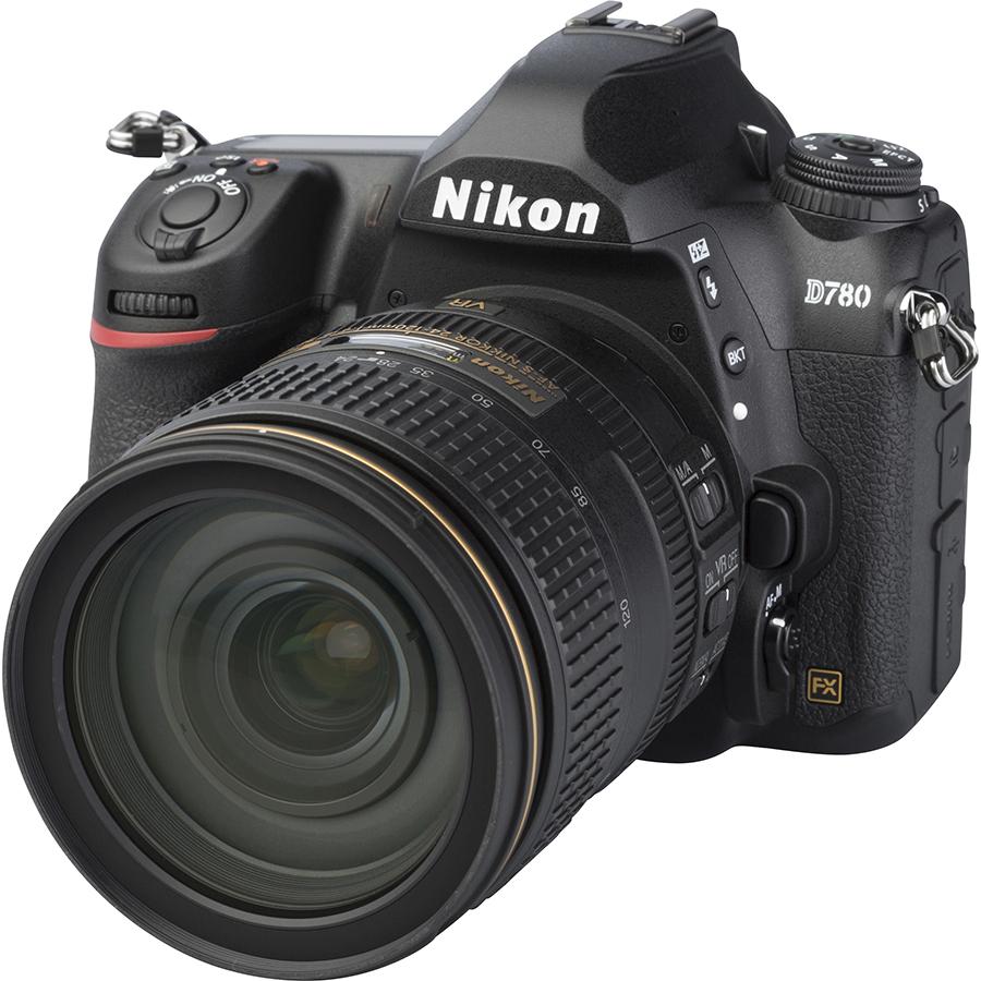 Nikon D780 + AF-S Nikkor 24-120 mm G ED VR - Vue principale