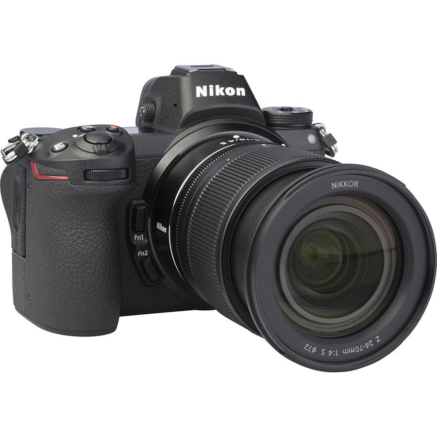 Nikon Z6 + Nikkor Z 24-70 mm S - Vue de 3/4 vers la droite