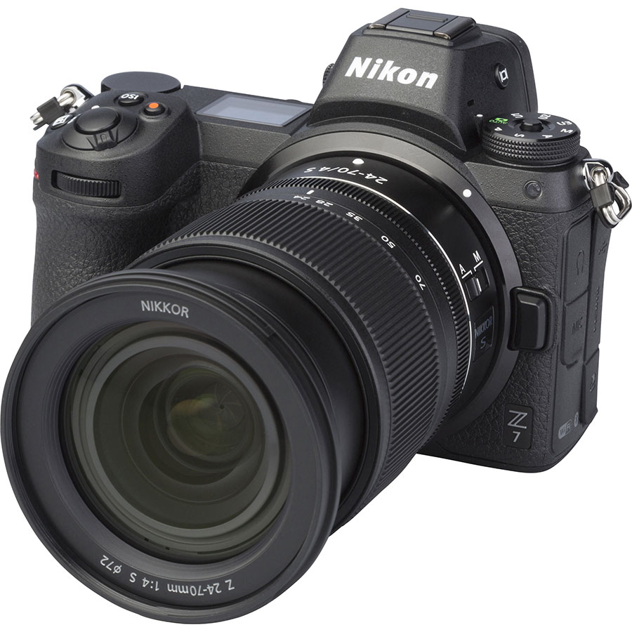 Nikon Z7 + Nikkor Z 24-70 mm S - Vue principale