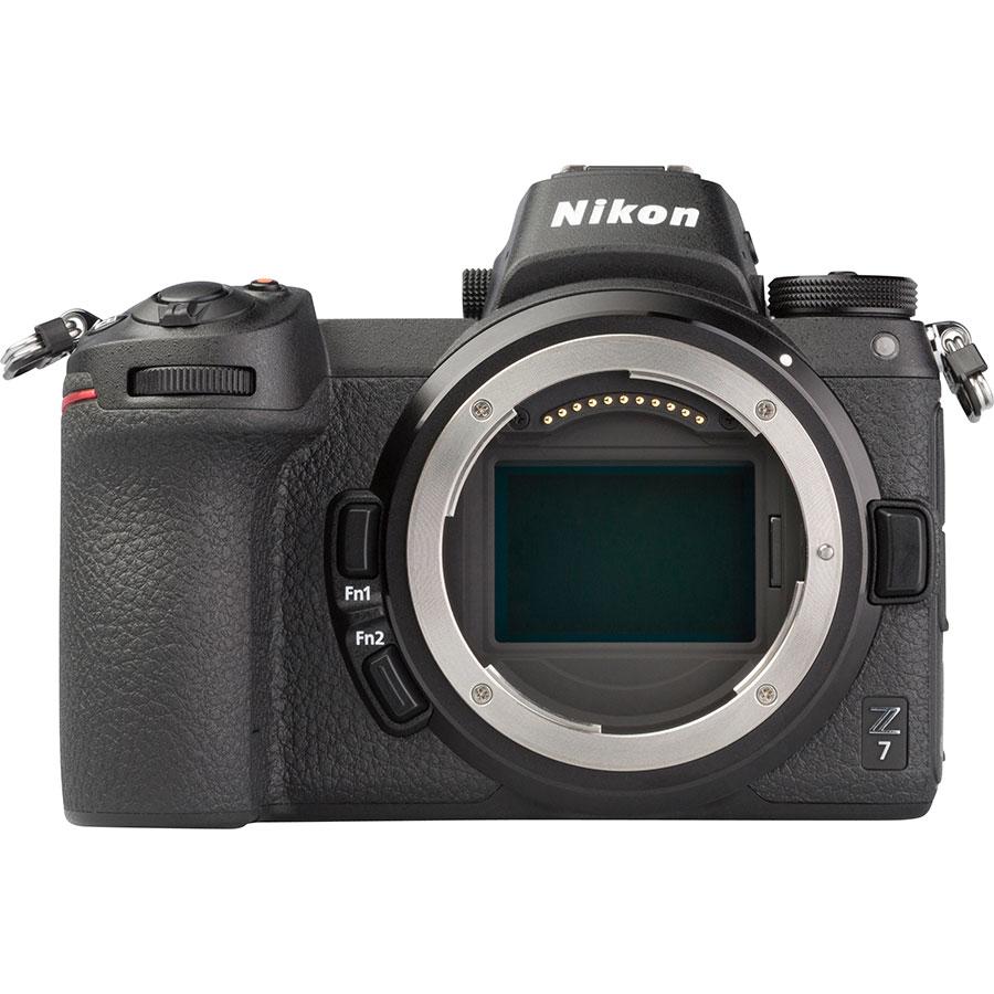 Nikon Z7 + Nikkor Z 24-70 mm S - Vue de face sans objectif