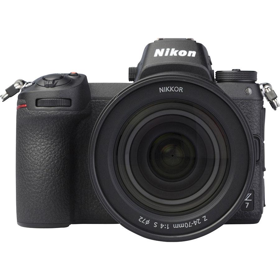 Nikon Z7 + Nikkor Z 24-70 mm S - Vue de face