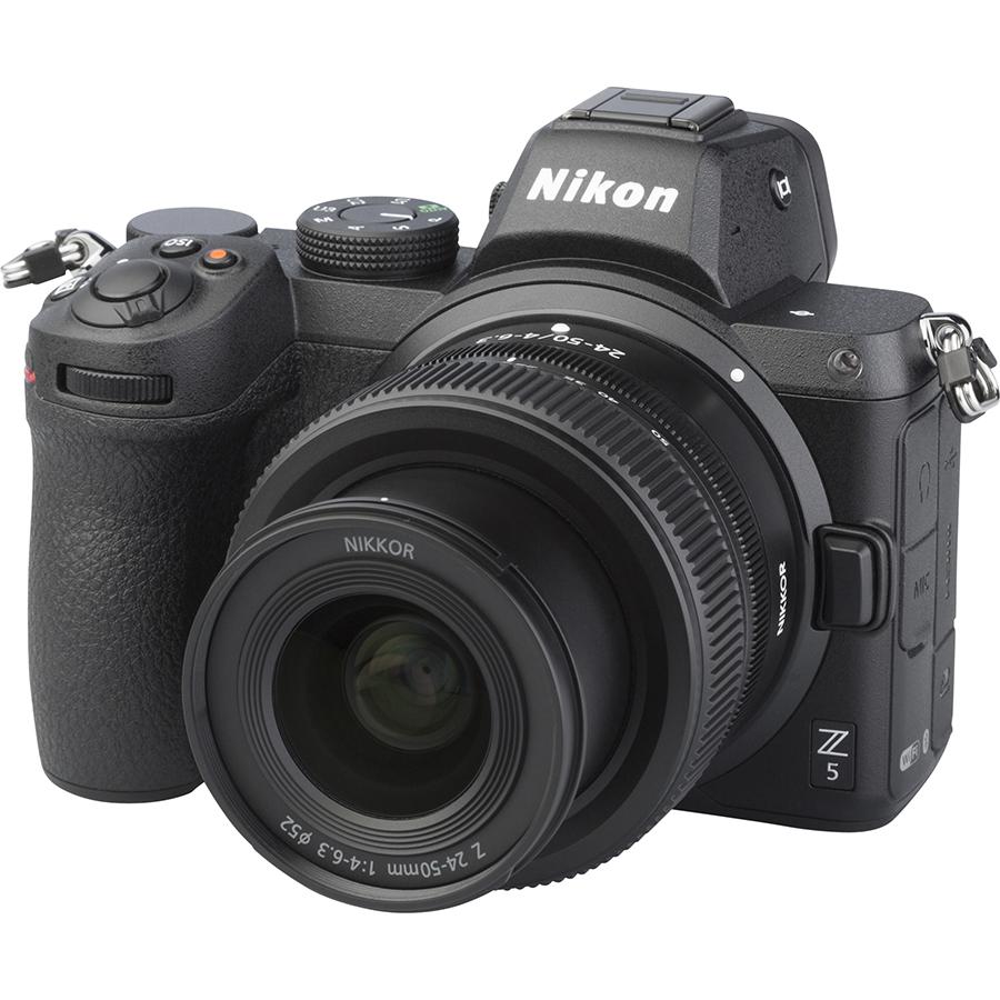 Nikon Z5 + Nikkor Z 24-50 mm - Vue principale