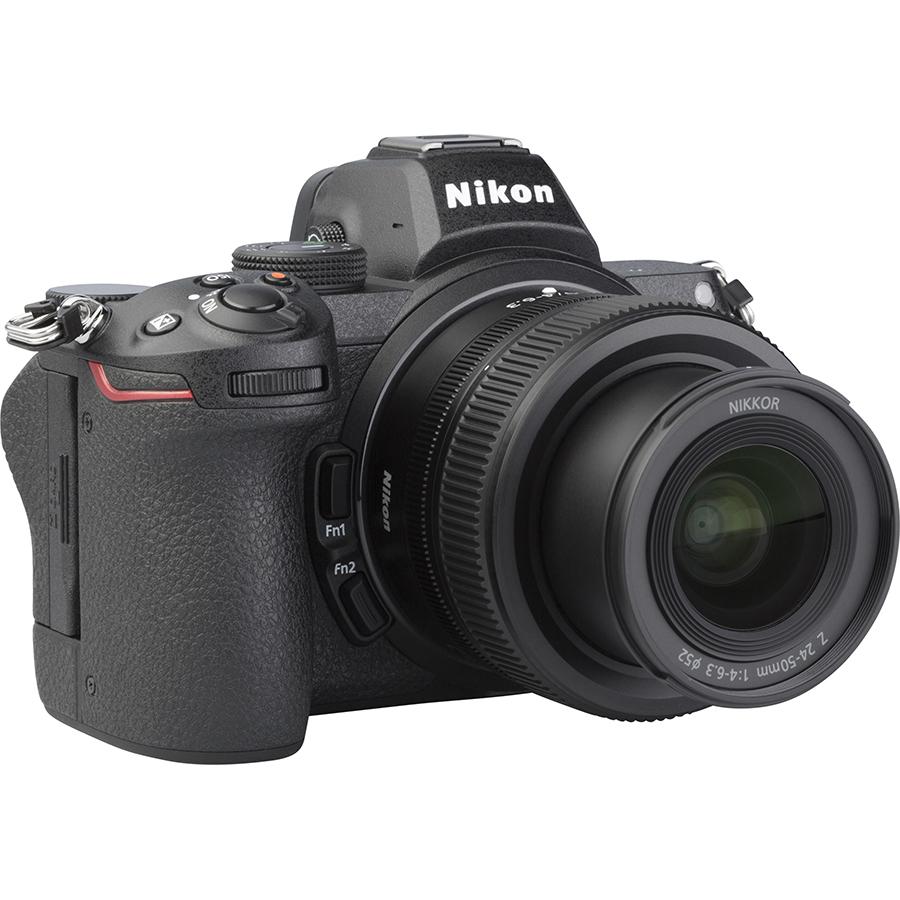 Nikon Z5 + Nikkor Z 24-50 mm - Vue de 3/4 vers la droite