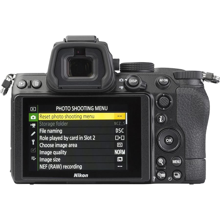 Nikon Z5 + Nikkor Z 24-50 mm - Vue de dos