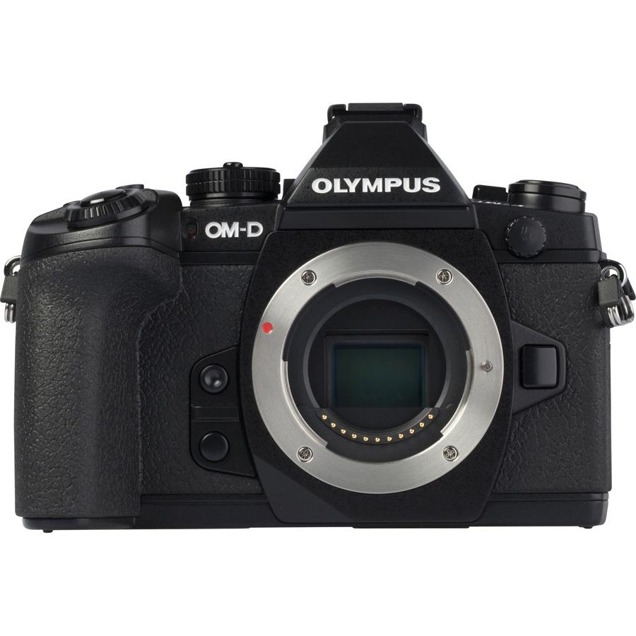 Olympus OM-D E-M1 + M. Zuiko Digital ED 12-50 mm EZ MSC - Vue de l'objectif