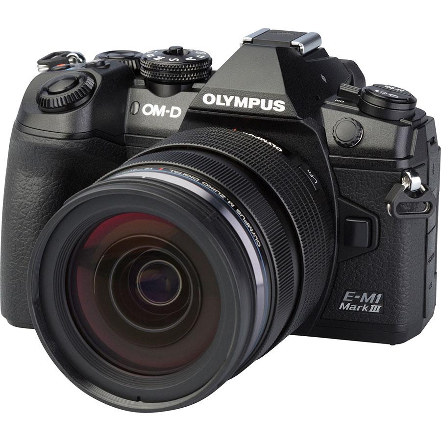 Olympus OM-D E-M1 Mark III + M.Zuiko Digital ED 12-40 mm Pro - Vue principale
