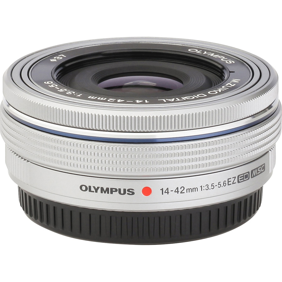 Olympus OM-D E-M10 + M. Zuiko Digital 14-42 mm EZ - Vue de dos